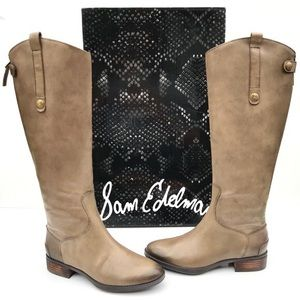 Sam Edelman Penny Leather Knee High Riding Boots